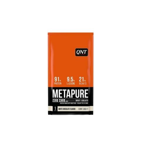 Metapure Zero Carb Sabor Chocolate branco (1 Sachê de 30gr cada) - QNT