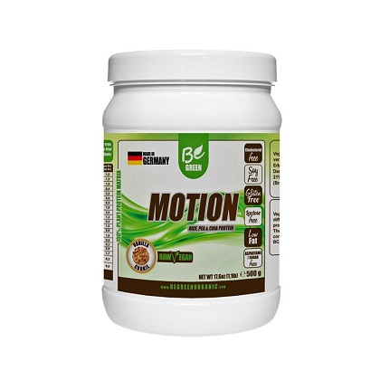 Motion - Be Green - Vanilla and Raspberry - 1kg