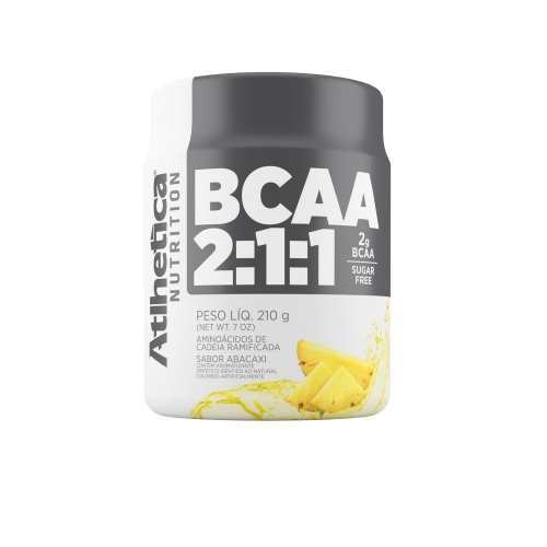 BCAA 2:1:1 Pro Series Sabor Abacaxi (210g) - Atlhetica Nutrition