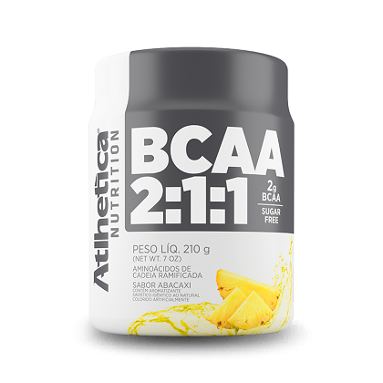BCAA 2:1:1 - Pro Series - Atlhetica Nutrition - Abacaxi - 210g