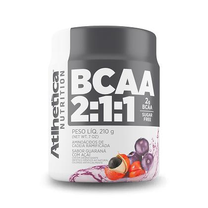 BCAA 2:1:1 - Pro Series - Atlhetica Nutrition - Guaraná com Açai - 210g