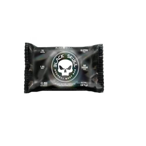 Round #1 Whey Bar Amendoim (21g) - Black Skull