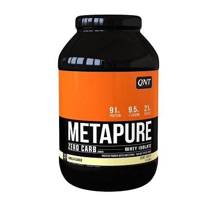 Metapure Zero Carb Sabor Chocolate c/ Flocos Staciatella (1Kg) - QNT
