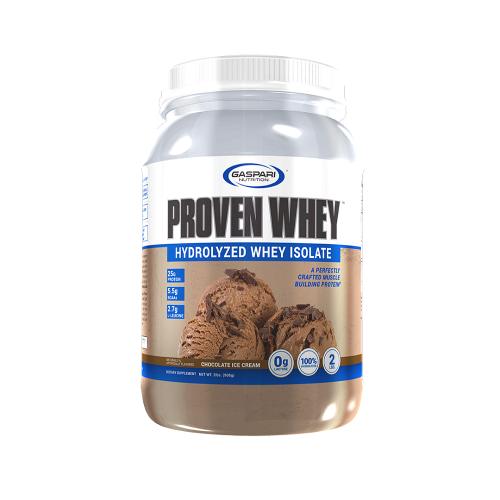 Proven whey sabor Sorvete de Chocolate (908g) - Gaspari Nutrition