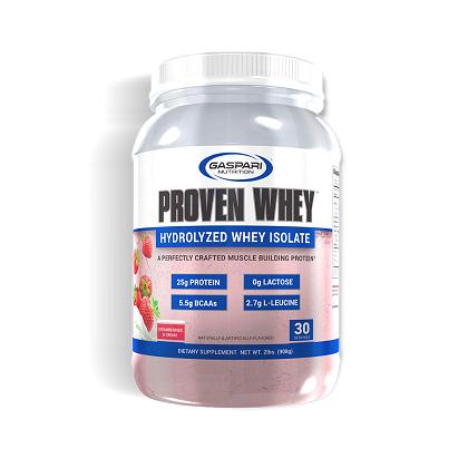 Proven whey sabor Morango Cremeso (908g) - Gaspari Nutrition