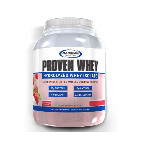 Proven whey Sabor Morango Cremeso (1,81kg) - Gaspari Nutrition