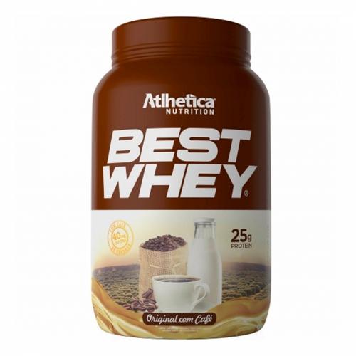 Best Whey Sabor Original com Café (900g) - Atlhetica Nutrition