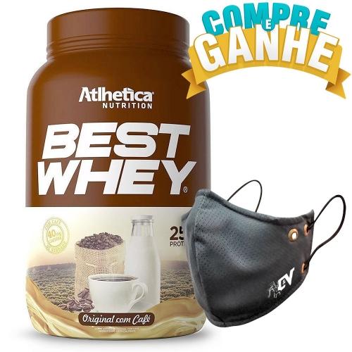 Compre Best Whey Sabor Original com Café (900g) e Ganhe Camiseta Best Whey - Atlhetica Nutrition