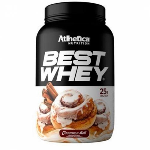Best Whey Sabor Canela (900g) - Atlhetica Nutrition