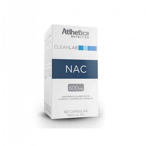 Nac N-Acetil L- Cisteína (60 Cápsulas) - Atlhetica Nutrition
