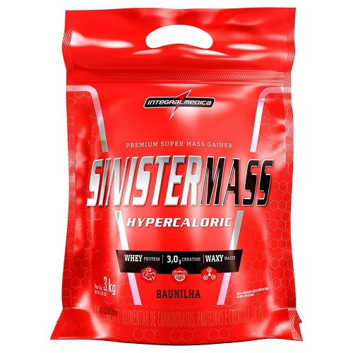 Sinistermass Sabor Chocolate (3kg) - Integralmédica