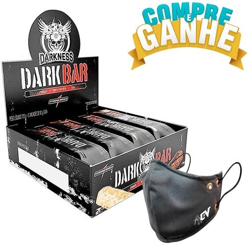 Whey Bar Darkness Sabor Chocolate c/ coco (Cx c/ 8 Unidades de 90g) - Integralmédica