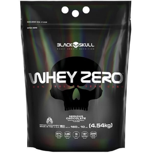 Whey Zero Chocolate  (4,5kg) - Black Skull