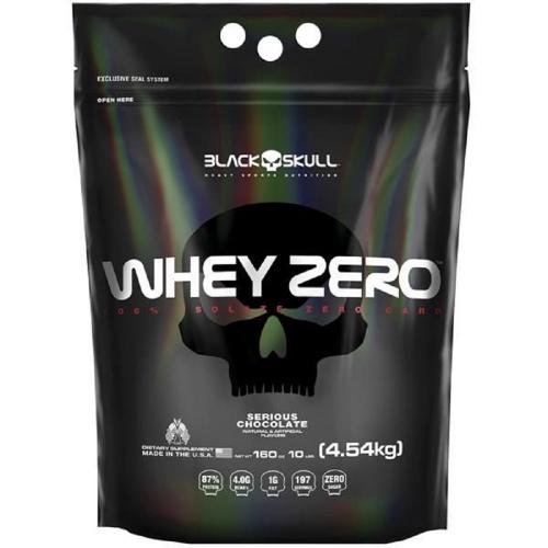 Whey Zero Morango (4,5kg) - Black Skull