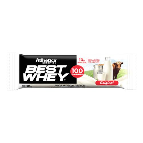 Best whey Bar Sabor Original (1 Unidade de 32g) - Atlhetica Nutrition