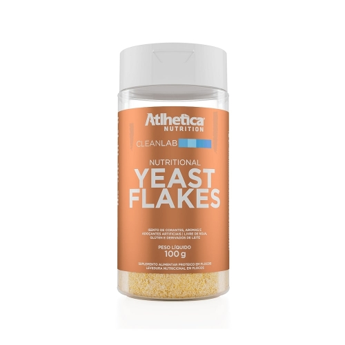 Yeast Flakes (100g) - Atlhetica Nutrtion