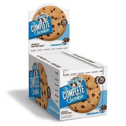 The Complete Cookie Sabor Chocolate c/ coco (Caixa c/ 12) - Lenny & Larry's