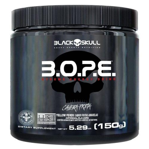 B.O.P.E. Sabor Limão (150g) - Black Skull