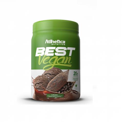 Best Vegan sabor Muffin c/ morango (500g) - Atlhetica Nutrition