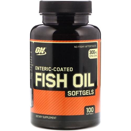 Fish Oil (100 Cápsulas) - Optimum Nutrition