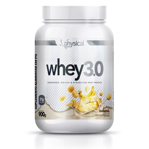Whey 3.0 Sabor Banana (900g) - Physical Pharma