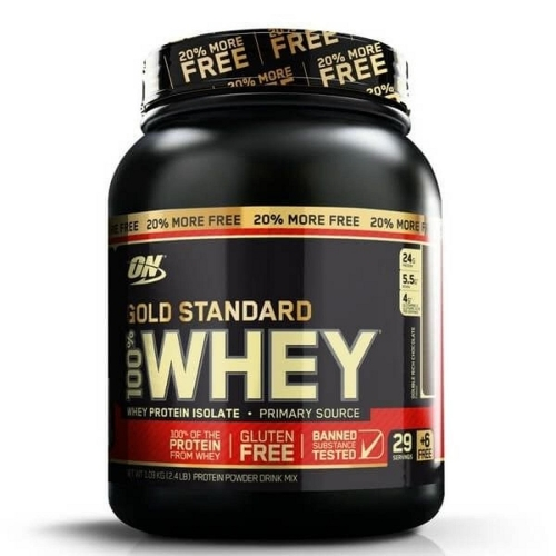 100% Whey Protein Gold Standard - Double Rich Chocolate - 1kg - Optimum Nutrition