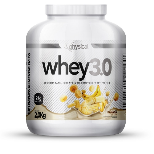 Whey 3.0 Sabor Banana (2Kg) - Physical Pharma