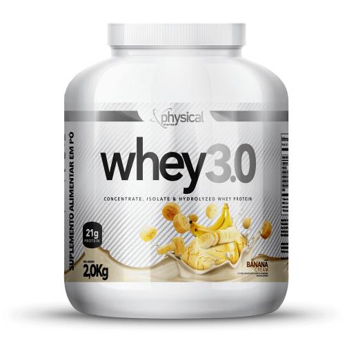 Whey 3.0 Sabor Banana (2Kg) - Physical Pharma