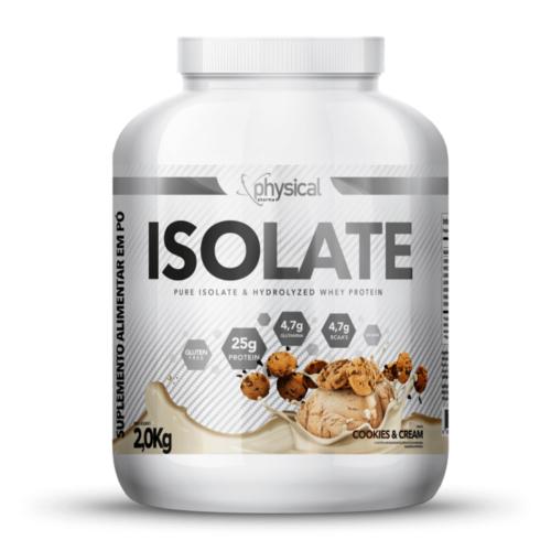 Isolate Sabor Cookies & Cream (2kg) - Physical Pharma