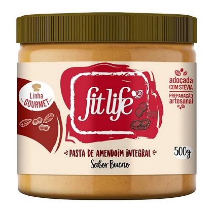 Pasta de Amendoim Linha Gourmet Sabor Creme de avelã (500g) - Fit Life
