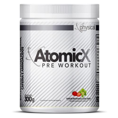 ATOMIC X Sabor Morango c/ Limão (300g) - Phsyical Pharma