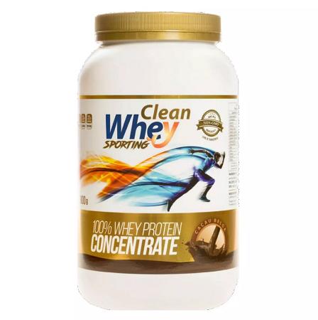 Clean Whey Concentrada - 900g - limão siciliano