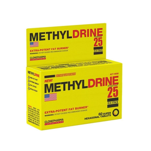 Methyldrene 25 Eca Stack (60 Cápsulas) - Clone Pharma