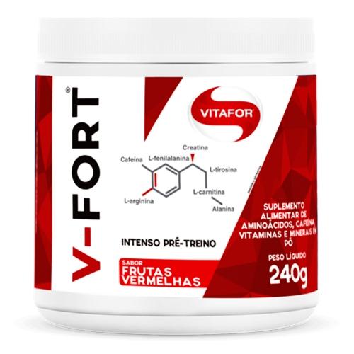 V-Fort Sabor Frutas Vermelhas (240g) - Vitafor