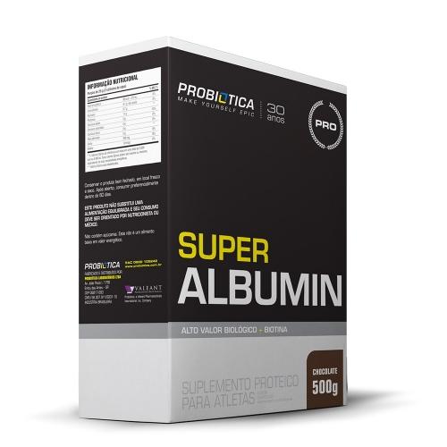 Super Albumina Sabor Chocolate (500g) - Probiótica