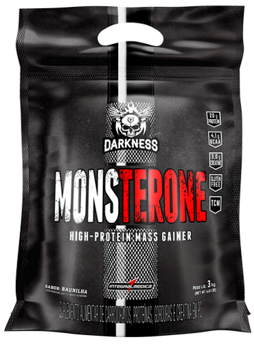 Monsterone Darkness Sabor Chocolate (3Kg) - Integralmédica