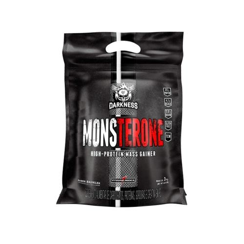 Monsterone Darkness Sabor Morango (3Kg) - Integralmédica