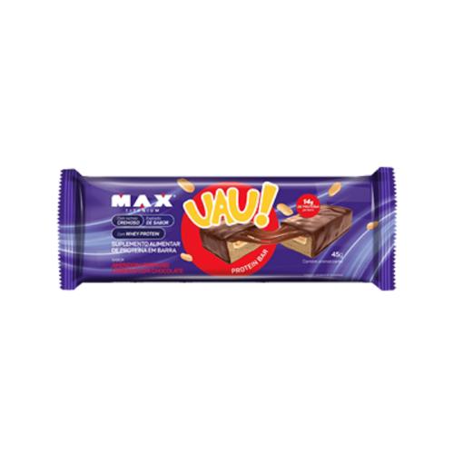 Uau Protein Bar Sabor Amedoim (1 unidade de 45g) - Max Titanium