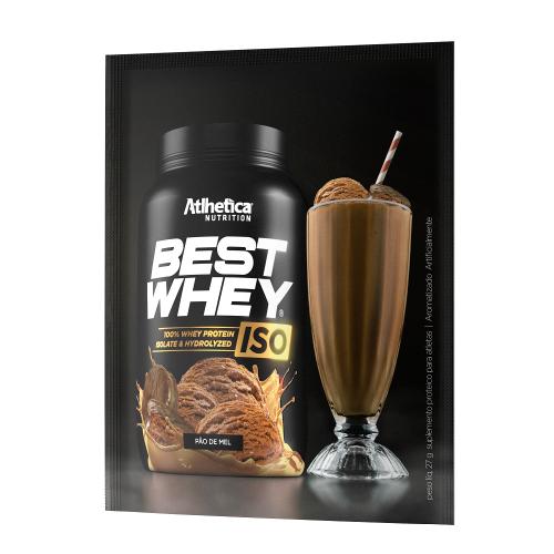 Best whey Iso Sabor Pão de Mel (1 Unidade 24g) - Atlhetica Nutrition