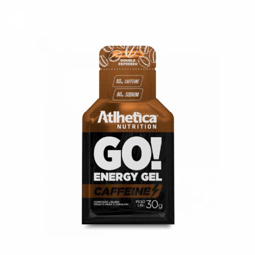 Go Energy Gel Caffeine- Atlhetica - Double Espresso  30g
