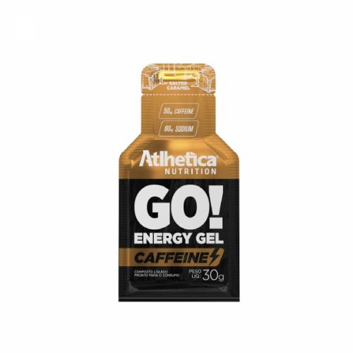 Go Energy Gel Caffeine- Atlhetica - Salted Caramel - 30g
