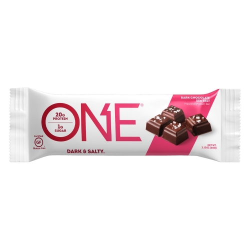 One Bar - Dark Chocolate Sea Salt (60g) - Oh Yeah!