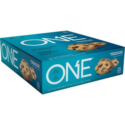 One Bar - Chocolate Chip Cookie Dough (Caixa c/ 12 Unidades de 60g cada) - Oh Yeah!