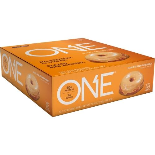 One Bar - Maple Glazed Doughnut (Caixa c/ 12 Unidades de 60g cada) - Oh Yeah!