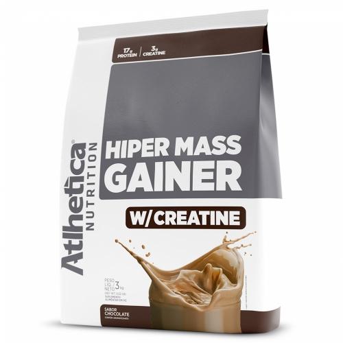 Hiper Mass Gainer Sabor Chocolate (3kg) - Atlhetica Nutrition