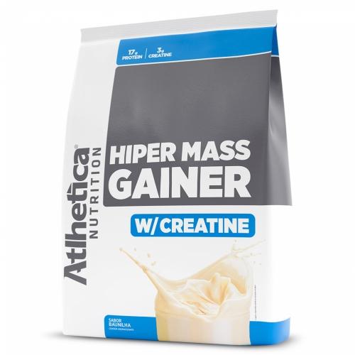 Hiper Mass Gainer Sabor Baunilha (3kg) - Atlhetica Nutrition