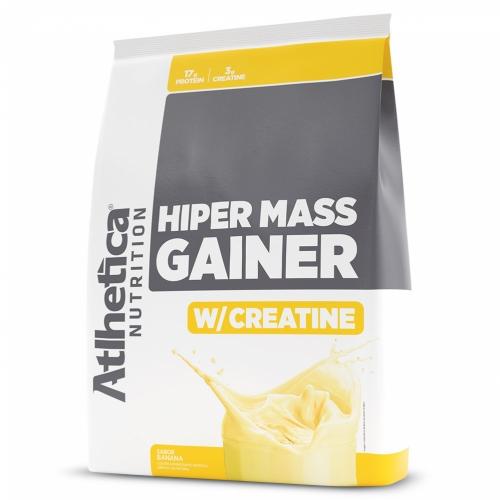 Hiper Mass Gainer Sabor Banana (3kg) - Atlhetica Nutrition