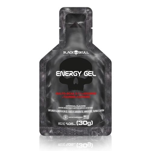 Energy Gel Sabor Limão (30g) - Black Skull