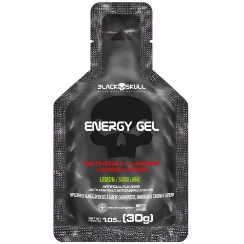 Energy Gel Sabor Laranja e Acerola (30g) - Black Skull