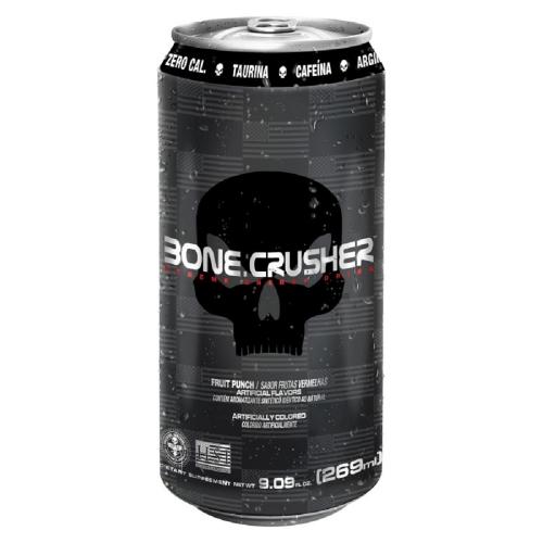 Bone Crusher Xtreme Energy Drink Frutas Vermelhas (269ml) - Black Skull